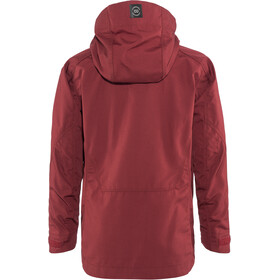 Lundhags Habe Jacket Kinder dark red